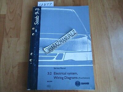 1999 SAAB 9-3 Electrical System Wiring Diagrams Final ...