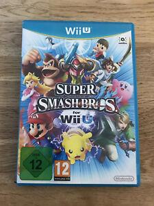 Super Smash Bros Wii U Nintendo Reino Unido PAL