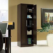 Sauder 411985 Homeplus Storage Cabinet Dao Dakota Oak Finish NEW