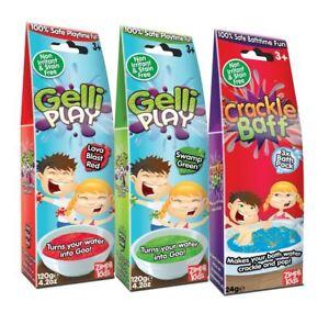 Gelli Baff Slime Bath Crackle Funtime Boys Girls Pool Party