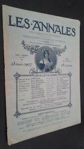 Revista-Dibujada-Las-Anales-13-Octubre-1907-N-1268-Politica-Y-Literaria