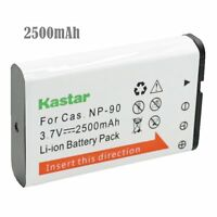 1x Kastar Battery For Casio Np-90 Exilim Ex-fh100 Ex-fh100bk Ex-h10 Ex-h15