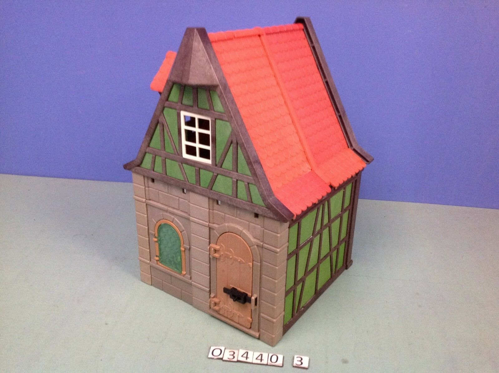 (O3440.3) playmobil maison médiévale Grüne le Größeur ref 3440 3666
