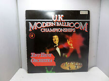 UK MODERN BALLROOM CHAMPIONSHIP TONY EVANS ORCHESTER TEMA TE1003  LP VINYL