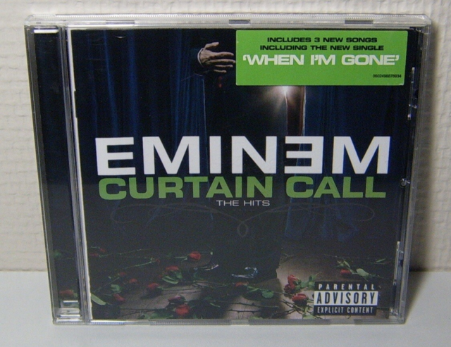 Eminem: Curtain Call - The Hits, hiphop, Album fra 2005 og…