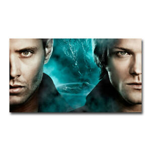 191C2 Supernatural Car TV Series 3 Print Art Silk Cloth Poster Deco