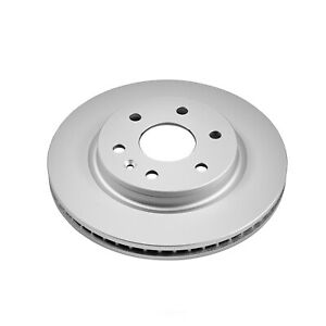 Disc Brake Rotor-Front Genuine Geomet Coated Rotor Front Power Stop AR8696EVC