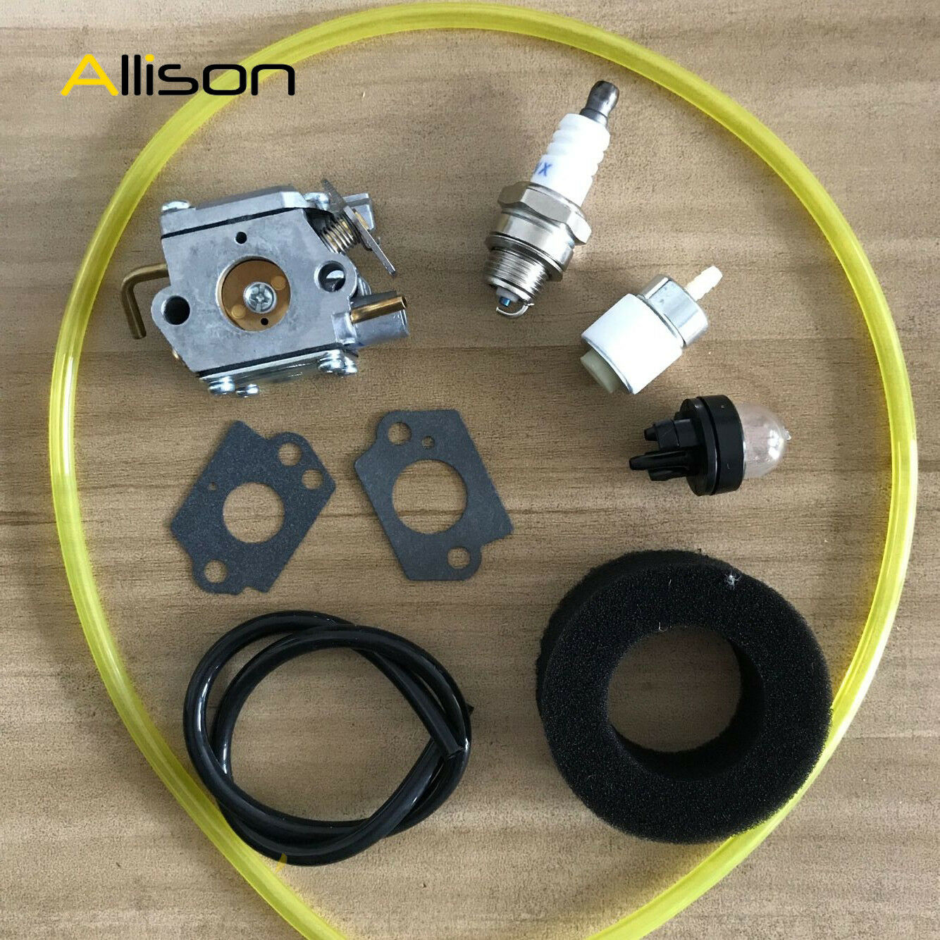 Carburetor 753 04408 With Fuel Line Mtd Oem Trimmer Or Lawn Mower Genuine Troybilt 7531225 X3 Norton Secured Powered By Verisign