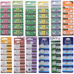 5-10-100PCS-1-5V-Knopfzelle-Batterie-Elektronische-Knopfzellen-Knopfbatterie
