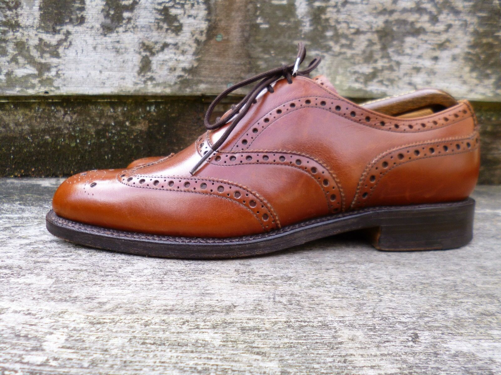 CHEANEY CHEANEY CHEANEY   CHURCH BROGUES – braun   TAN – UK 8.5 –  EXCELLENT CONDITION  b5dc79