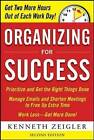 Organizing for Success by Kenneth Zeigler (Paperback, 2010)