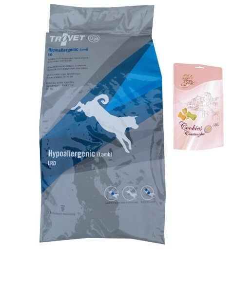 12,5kg TROVET LRD hypoallergenic Agnello dieta mangime cibo per cani  Lolo BISCOTTI CANI