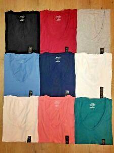 Banana-Republic-Women-039-s-Timeless-Short-Sleeve-V-Neck-Premium-Wash-Tee-T-Shirt