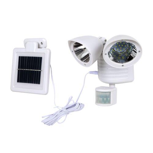 22 LED Solar Strahler Lampe Bewegungsmelder Außenleuchte Solarleuchte SpotLicht