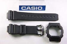 Casio G-Shock DW-5600MS-1 New Band & Bezel Combo Black Military Edition DW-5600