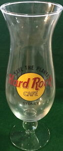 Hard-Rock-Cafe-SYDNEY-Hurricane-Glass-w-Classic-HRC-Logo-amp-SAVE-THE-PLANET-9-25-034