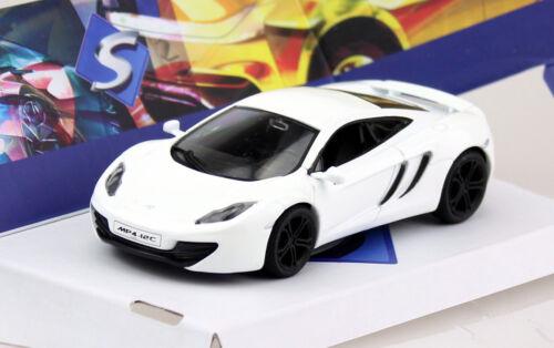 Die-cast McLaren Mp4-12C weiß 1:43 Solido Modellauto