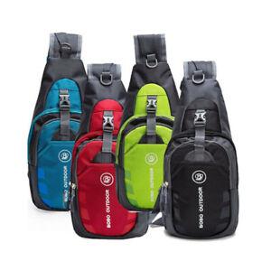 Men-Women-Nylon-Sling-Bag-Backpack-Crossbody-Shoulder-Chest-Cycle-Daily-Travel