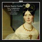 Johann Baptist Vanhal: Two Symphonies; Cello Concerto (CD, Jan-2012, CPO)