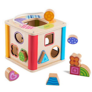 Kids-Wooden-Shape-Sorter-Toy-Educational-Toddler-Toys-Baby-Shapes-Sorting-Cube