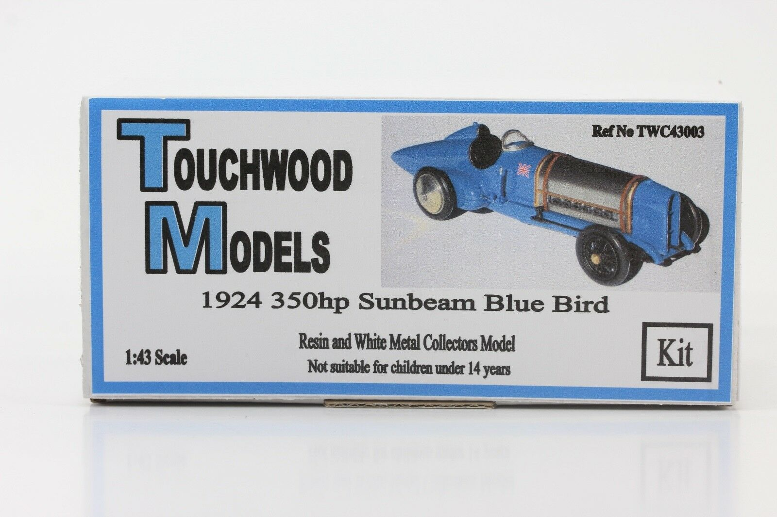 SUNBEAM bluBIRD 350hp 1925 Malcolm Campbell Kit/Kit 1:43 TouchWood twc43008