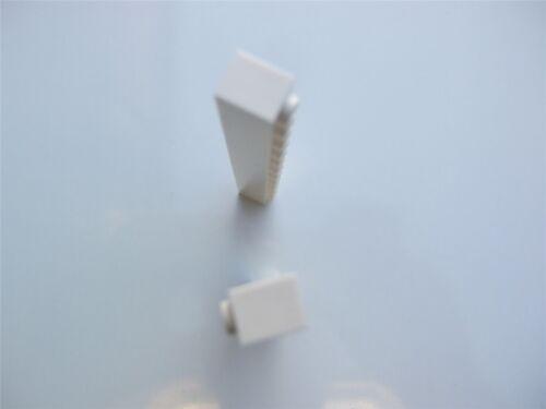 2 X Lego Ladrillo Blanco - 611201 partes y piezas de Tamaño 1x12