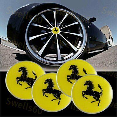 Leilims 4pcs 65mm Wheel center Hub Sticker Cover Caps Car Logo Emblem Fit for Mazda