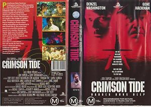 Crimson-Tide-1995-Australian-Hollywood-Pictures-Vhs-Action-Adventure-Thriller