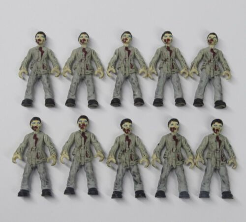 lot of 10 Bloks Call of Duty Zombies Outbreak The Walking Dead action figure W1
