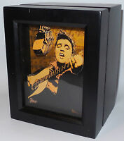 Elvis : Elvis Presley Collectors Watch Made By Fossil. He Dared To Rock. (tk)