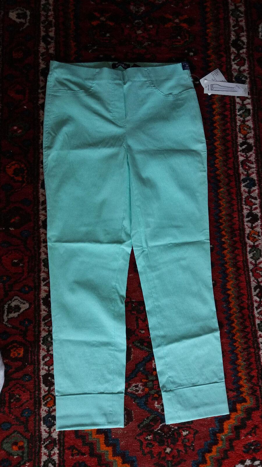 Robell Bella 7 8 Schlupfhose Strechhose Gr.38 mintgrün NEU