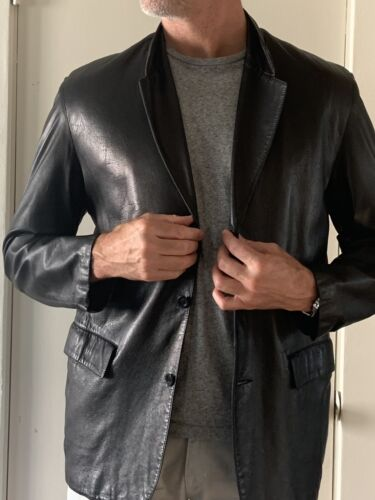 Carriere Mens Leather Jacket