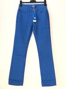 Homme-Adidas-100-Coton-Coupe-Slim-Jeans-W28-L32-Bleu-BNWT