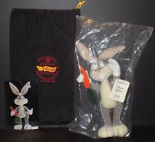Steiff Warner Brothers Bugs Bunny RARE Limited Edition Mohair 1997 #705 of 2500