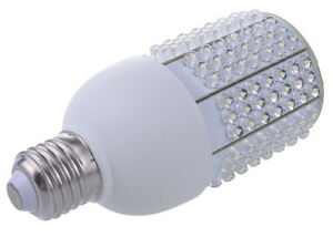 dc 12v to 24v 10w warm white 201 led corn light bulb lamp 4000k e27 medium base ebay. Black Bedroom Furniture Sets. Home Design Ideas