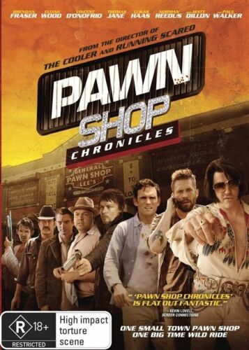 1 of 1 - Pawn Shop Chronicles- Region 4 DVD BRAND NEW SEALED
