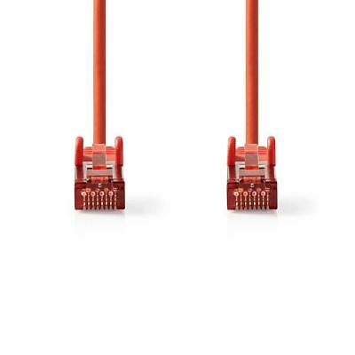 Novel Designs Delightful Colors And Exquisite Workmanship Painstaking Nedis Cat 6 S/ftp Network Cable Rj45 Male To Rj45 Male 15m Red Ccgp85221rd150 Famous For Selected Materials