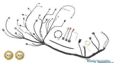Wiring Specialties Pro Engine Tranny Harness for S14 SR20DET to S13 Silvia  RHD   eBayeBay
