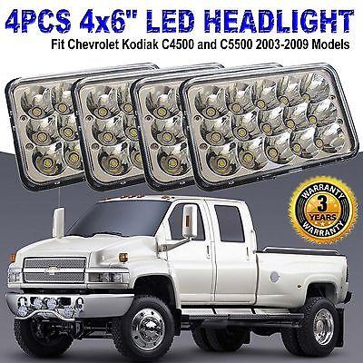 chevy c5500 headlamp wiring cree led headlights for chevrolet kodiak c4500 and c5500 2003 2009  chevrolet kodiak c4500 and c5500 2003