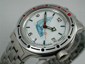 Russian-Amphibian-Vostok-automatique-Diver-Watch-42615-New