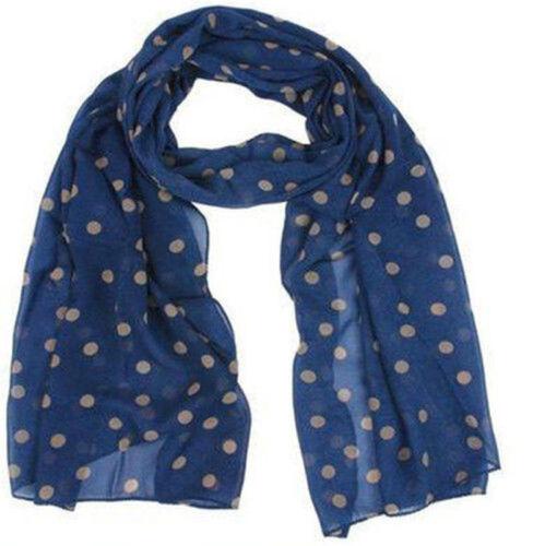 Women Fashion Long Soft Chiffon Flower Scarf Sheer Wrap Neck Shawl Stole Glitzy