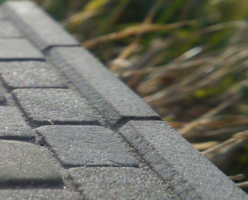 """10 miniature 3mm de haut x 1 1//2/"""" long véritable pierre grise kerbstones//bordures//bordures"""