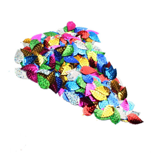 200pcs Sequins Leaves Sewing Scrapbooking Craft Confetti Wedding Sequins