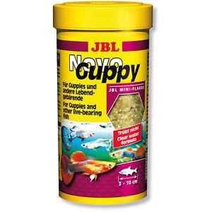 JBL-NovoGuppy-250ml-Novo-Guppy-Food-Flakes-in-Original-Packaging