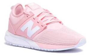 New Balance 247 WRL247EM Womens Light Pink Suede Trainers UK Size 3 ... 03f5b6d57cf1