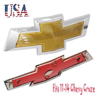 NEW Chevy Front Hood Badge LOGO Emblem For 11-14 Cruze Grille Badge Bumper Logo