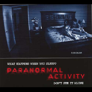 Paranormal Activity 1,2,3,4 (Unrated Blu-ray,DVD