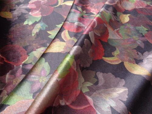 per metre dresses Viscose//Polyester Velvet /'Rustic Retreat/',