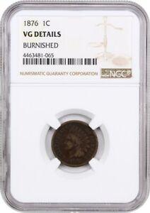 1876-1c-NGC-VG-Details-Bruni-Bn-Indien-Cents