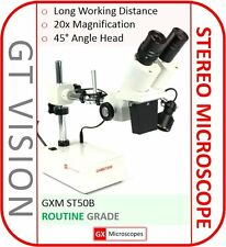 ST50B Stereo Microscope, 40X Mag. PCB-Mobile Phone-Soldering - Stock In 26/05/17
